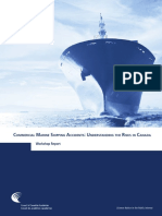 Commercial Marine Shipping Accidents