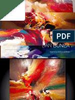Catalog Knokke Heist 2016 - Dan Bunea , large living abstract paintings