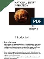 International Entry Strategy Ppt