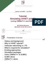 Vanets Simulations