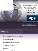 AFHSC Neuropsychiatric Adverse Events Following Mefloquine Exposure slide show
