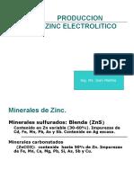 Produccion de Zinc Electrolitico (1)