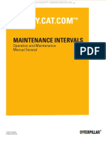 Manual Maintenance Interval Cat 416d 420d 42d 428d 430d 432d 442d Backhoe Loaders