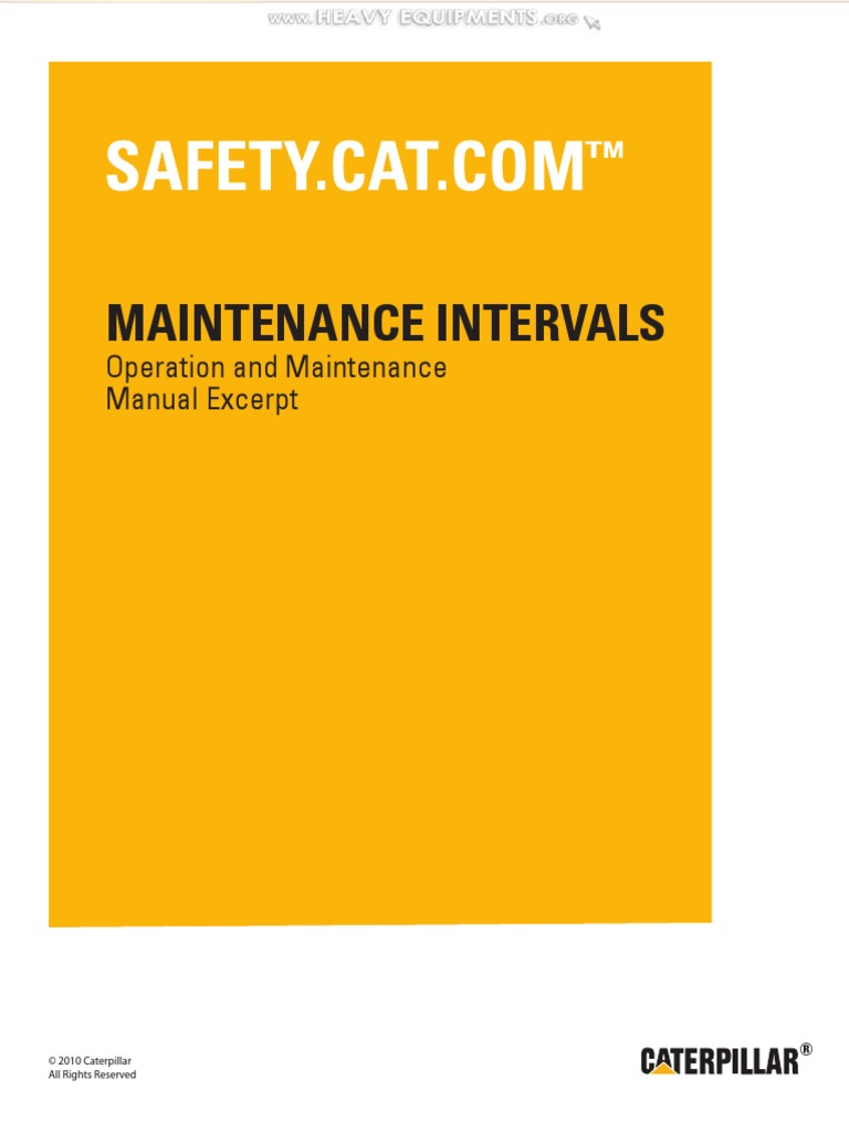 manual maintenance interval cat 416d 420d 42d 428d 430d 432d 442d