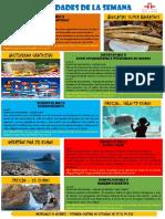 Actividades de la Escuela de Español 02 - 08 Mayo