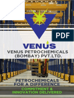 Venus Petrochemicals Brochure