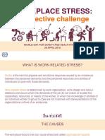 Εργασιακό Στρες-Μια Πρόκληση για Όλους