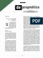 Principios de Pragmática, Leech