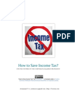 How to Save Income Tax - India- Article by Arunanand T a - TAAism.com - English - Malayalam