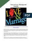 Catholic Views on Love