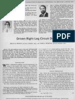 Driven Right Leg Circuit Design