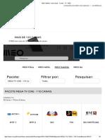 MEO Satélite - Lista Canais - Canais - TV - MEO