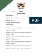 Agenda - Modelo Naciones Unidas