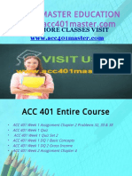 ACC 401 MASTER EDUCATION EXPERT / acc401master.com