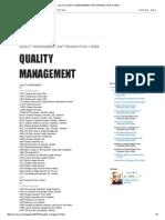 Just Me_ Quality Management Sap Transaction Codes