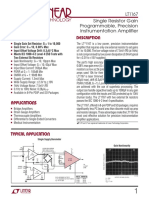 LT1167 Instr Amp