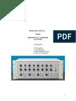 DP 304 Manual