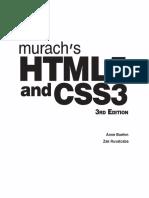 Murach Html5 and Css3