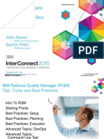 RQM Best Practices