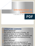 1st Material Introduction to Literature