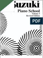 Suzuki Piano School, Vol 6
