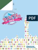University of Birmingham BUAFTA Brochure 2016