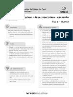 TJ PI Analista Judiciario - Area Judiciaria - Escrivao Judicial (JUD-ESC) Tipo 1