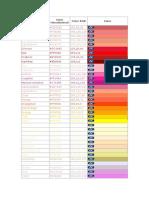 Colores en Php