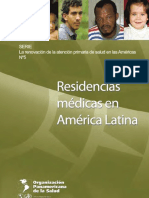 Residencias Medicas Amer Latina OPS