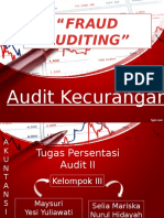 Fraud Auditing Persentation