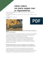 Agências Reguladoras - Dicas Lia Salgado