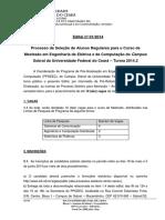 Edital Ppgeec 2014-2