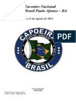 I Encontro Nacional Capoeira Brasil Araguaina - To