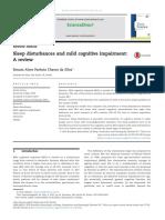 Sleep Disturbances and Mild Cognitive Impairment