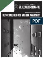 De toevallige dood van een anarchist