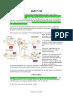 1 Clase de Farmaco Diureticos Def