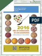 2016 Ano Internacional de Las Legumbres