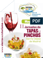 Folleto Tapas y Pinchos