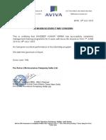 Aviva Life Insurance Company India Ltd