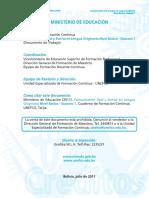 Comunicación Oral y Escrita en Lengua Originaria Nivel Básico - Guaraní 1.pdf