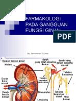 Farmakologi Pada Gangguan Fungsi Ginjal