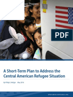 A Short-Term Plan to Address the Central American Refugee Situation