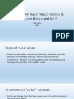 music video powerpoint p2