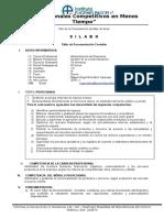SILABO Taller de Documentacion Contable 2016-I