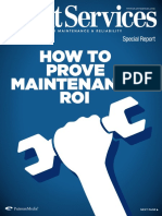 Maintenance Roi