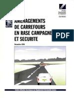 Aménagement de Carrefours en Rase Compagne Et Securité_2