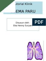 Tutorial Klinik Edema Paru Henny