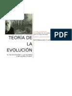 Reflexión teoría evolutiva