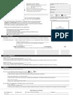 CSB Scholarship Form
