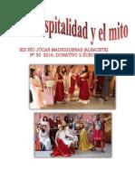 Cuadernos de Mitología Nº 30. Hospitalidad y Mito
